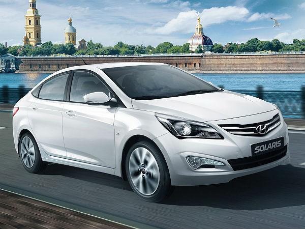 Аренда автомобиля Hyundai Solaris в Екатеринбурге